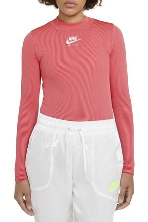 Nike Women's Air Mock Neck Long Sleeve Top