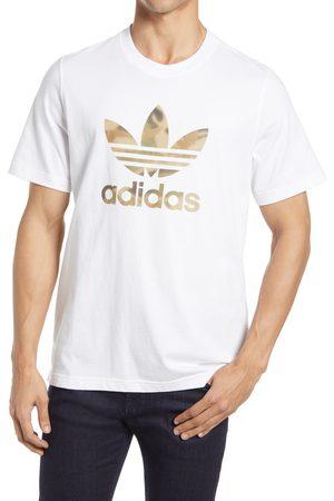 adidas Men's Camo Trefoil Graphic Tee