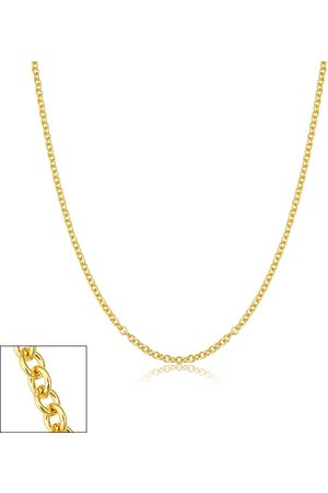 SuperJeweler 2.1mm Round Cable Link Chain Necklace