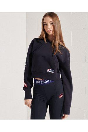 Superdry Women Hoodies - Sportstyle Graphic Boxy Hoodie