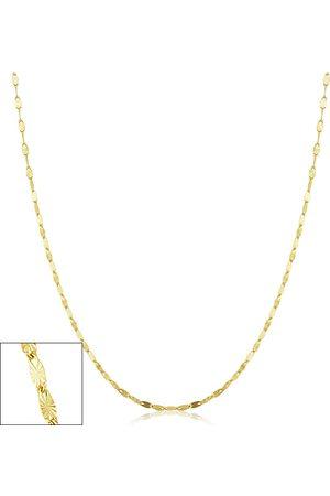 SuperJeweler 1.5mm Star Flat Link Chain Necklace