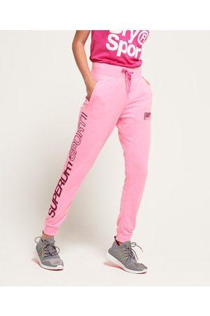 Superdry Women Pants - Core Sport Sweatpants