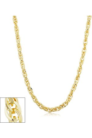 SuperJeweler 5.2mm Double Cable Link Chain Necklace