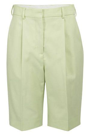 Acne Studios Women Bermudas - High waist Bermuda shorts