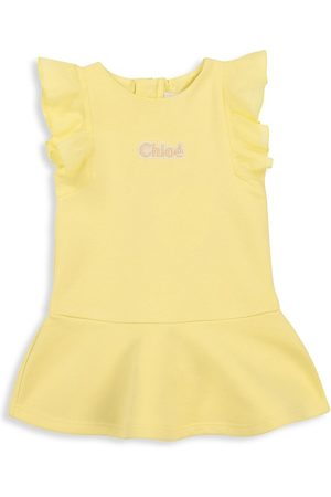 Chloé Baby Girl's & Little Girl's Ruffle Trim T-Shirt Dress - - Size 6 Months