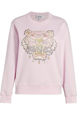 Kenzo Women's Classic Tiger Sweatshirt - Faded - Size Large
