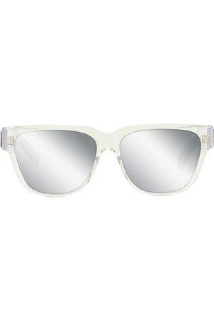 Dior Men's xtrem SI 57MM Plastic Rectangular Sunglasses - Crystal