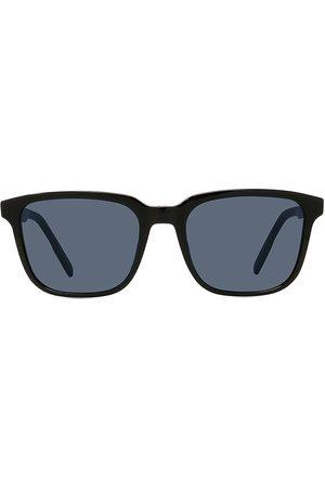 Dior Men's Essential RU 56MM Plastic Rectangular Sunglasses - Shiny