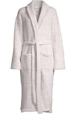Barefoot Dreams Women's The CozyChic Heathered Robe - Stone - Size Small