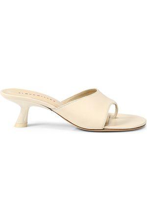SIMON MILLER Women's Bil Leather Thong Sandals - - Size 6