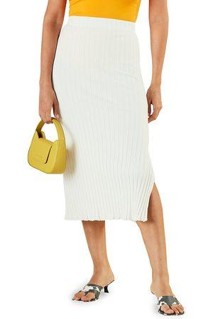 SIMON MILLER Women's Liko Ribbed Skirt - Macadamia - Size Small
