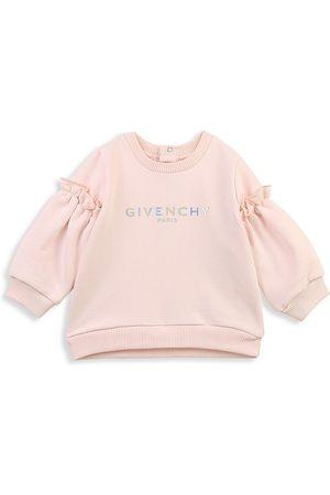 Givenchy Sweatshirts - Baby Girl's & Little Girl's Logo Sweatshirt - Light - Size 12 Months
