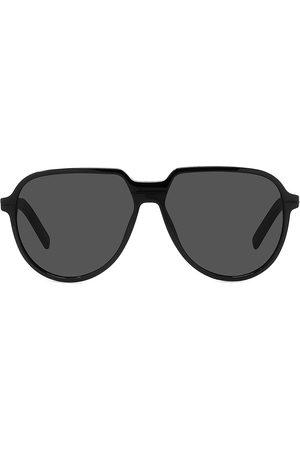 Dior Men Aviators - Men's Tag SU 57MM Plastic Aviator Sunglasses - Shiny
