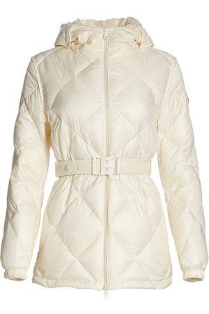 Moncler Women Puffer Jackets - Women's Sargas Quilted Jacket - Natural - Size Medium