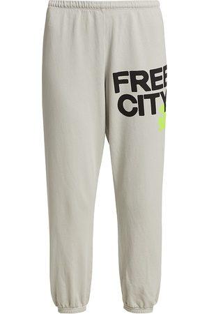 FREECITY Women Pants - Women's Logo Sweatpants - Stardust - Size Large
