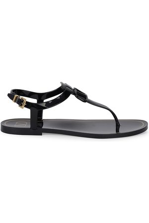 VALENTINO Women Sandals - Women's Patent Thong Sandals - - Size 9