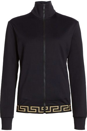 VERSACE Women Hoodies - Women's Greca Gym Sweatshirt - - Size XS