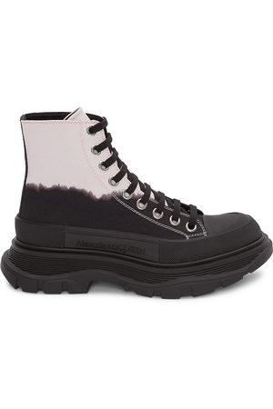 Alexander McQueen Men's Men's Tread Slick Boots - - Size 12.5