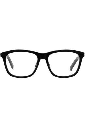 Dior Men Square - Men's EssentialO NU 57MM Plastic Square Optical Glasses - Shiny