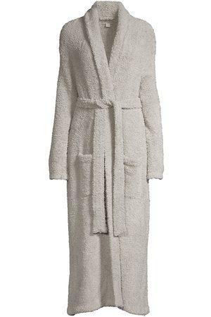 Barefoot Dreams Women Bathrobes - Women's Cozychic Robe - Dove - Size Medium