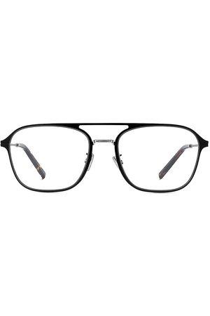 Dior Men's EssentialO RU 58MM Metal Navigator Optical Glasses - Matte