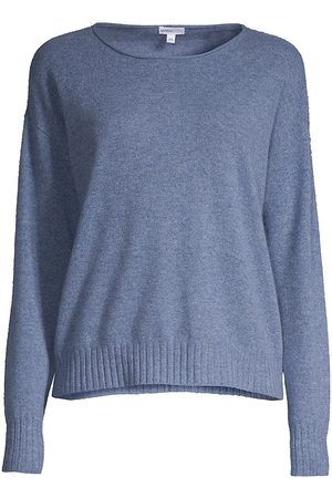 MINNIE ROSE Women Denim - Women's Easy Cashmere Sweater - Denim - Size Large