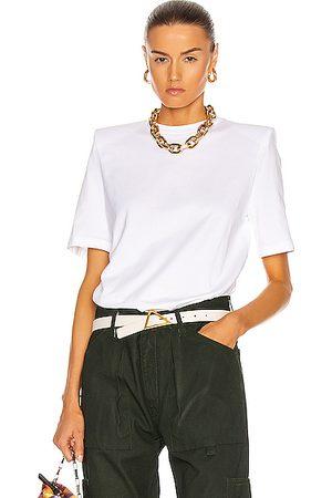 ATTICO Bold Shoulder T-Shirt in