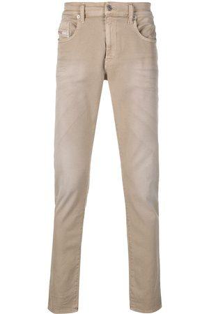 Diesel D-Strukt mid-rise slim-fit jeans - Neutrals