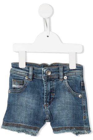 Diesel Shorts - Frayed denim shorts