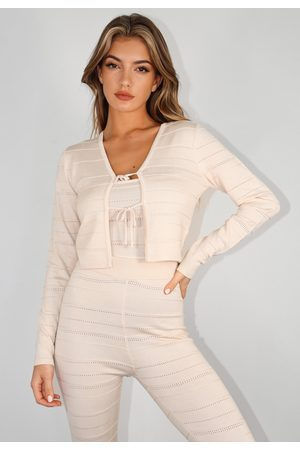 Missguided Co Ord Textured Cardigan