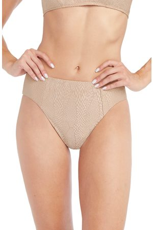 Robin Piccone Women's Eve High Waist Bikini Bottoms