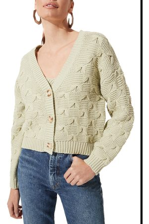 ASTR Women's Button Front Cardigan