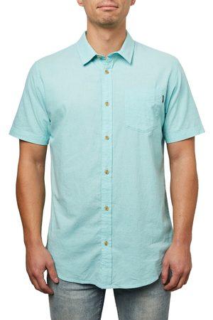 O'Neill Men's Service Short Sleeve Button-Up Shirt