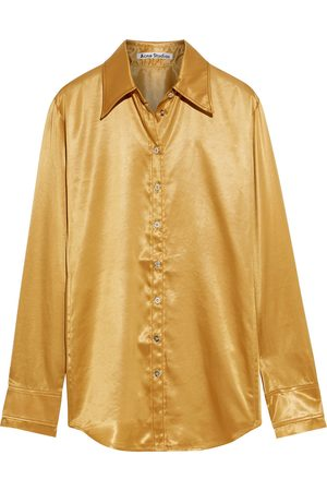 Acne Studios Woman Satin Shirt Size 32