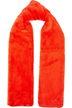 Stand Studio Woman Lily Long Faux Fur Scarf Bright Size