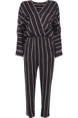 Maje Woman Pandomi Striped Woven Jumpsuit Size 1
