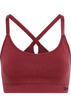 Reebok Woman Pointelle-trimmed Stretch Sports Bra Size XS