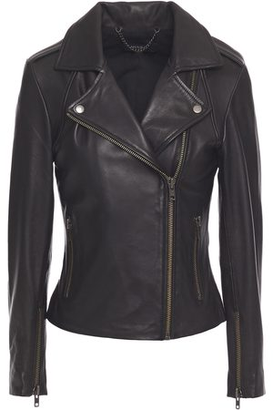 Muubaa Women Leather Jackets - Woman Leather Biker Jacket Size 10