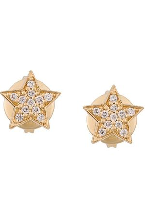 ALINKA Women Studs - 18kt STASIA MINI Star diamond stud earring - Metallic