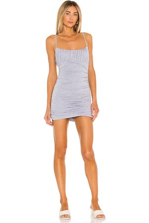 Lovers + Friends Juliana Mini Dress in Grey.