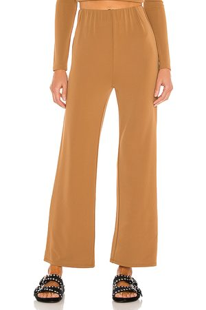 Song of Style Century Pant in Tan.