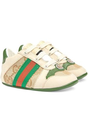 Gucci Sneakers - Screener leather sneakers - Neutrals