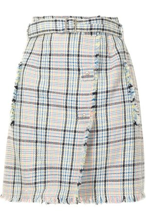 PORTSPURE Women Mini Skirts - Checked mini skirt - Multicolour