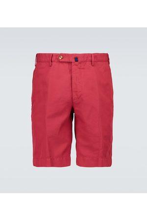 Incotex Men Shorts - Chinolino linen and cotton shorts