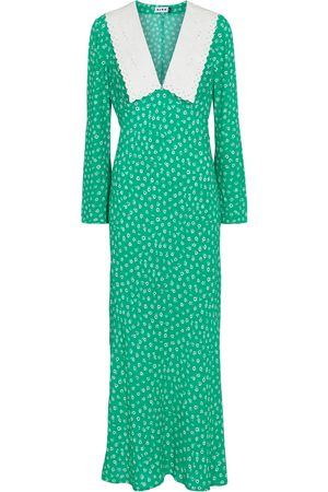 RIXO London Arielle floral midi dress