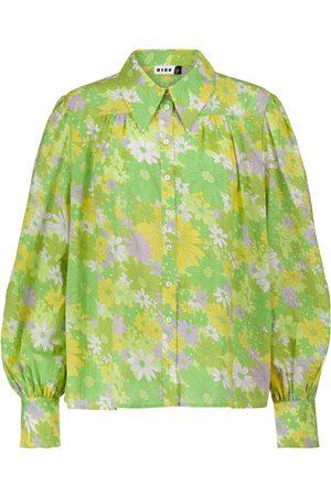 RIXO London Blake floral wrap blouse