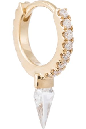 Maria Tash Spike Eternity 18kt hoop earring with diamonds