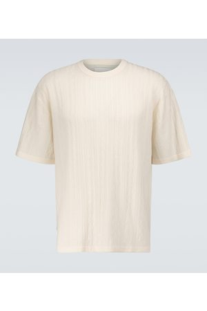 King and Tuckfield Knitted wool T-shirt