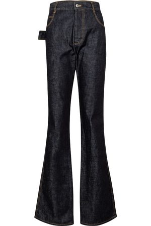 Bottega Veneta High-rise flared jeans