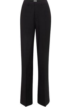 CO Wide-leg wool pants